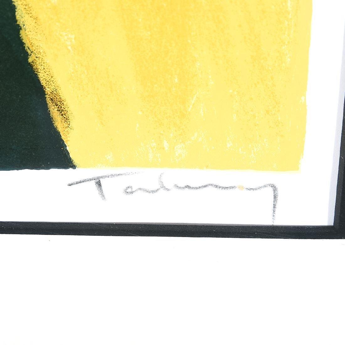 "Itzchak Tarkay ""Intimacy"" Signed Serigraph - 2"