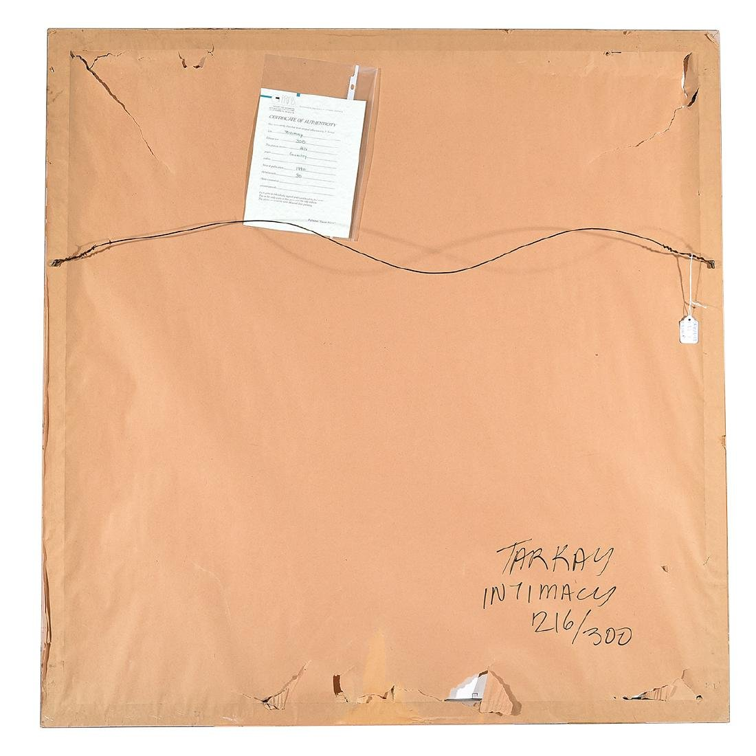"Itzchak Tarkay ""Intimacy"" Signed Serigraph - 6"