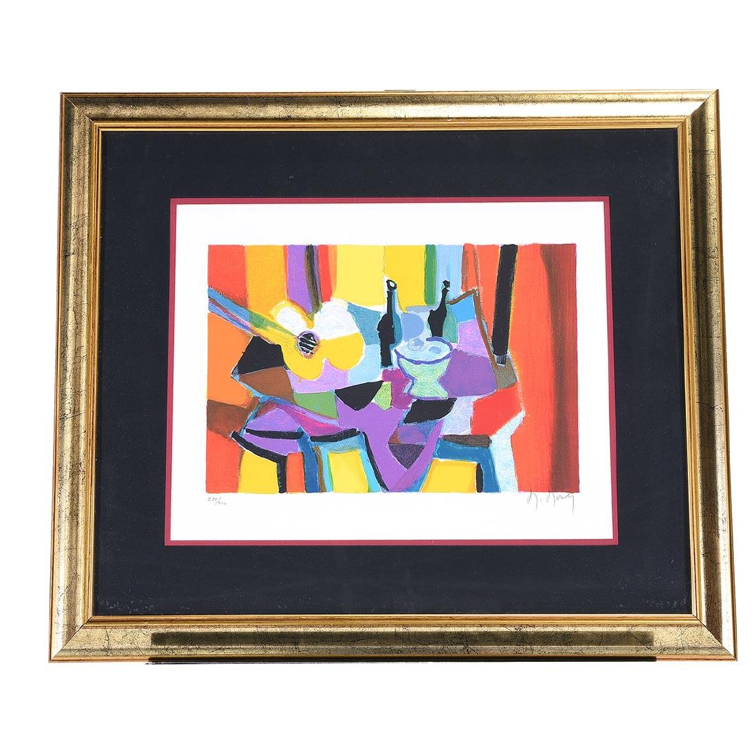 Marcel Mouly 2 color lithographs - 10