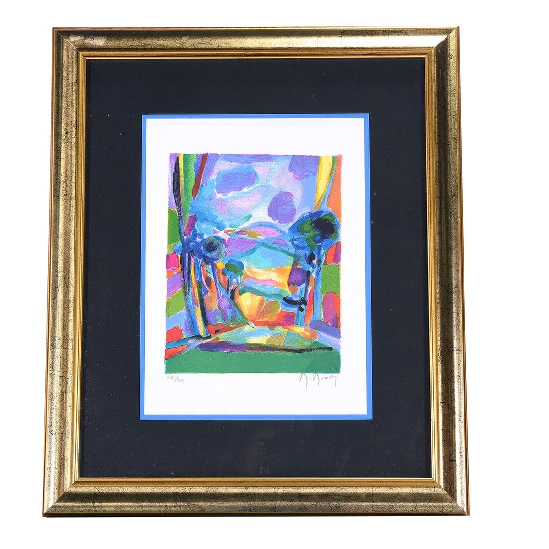 Marcel Mouly 2 color lithographs - 5