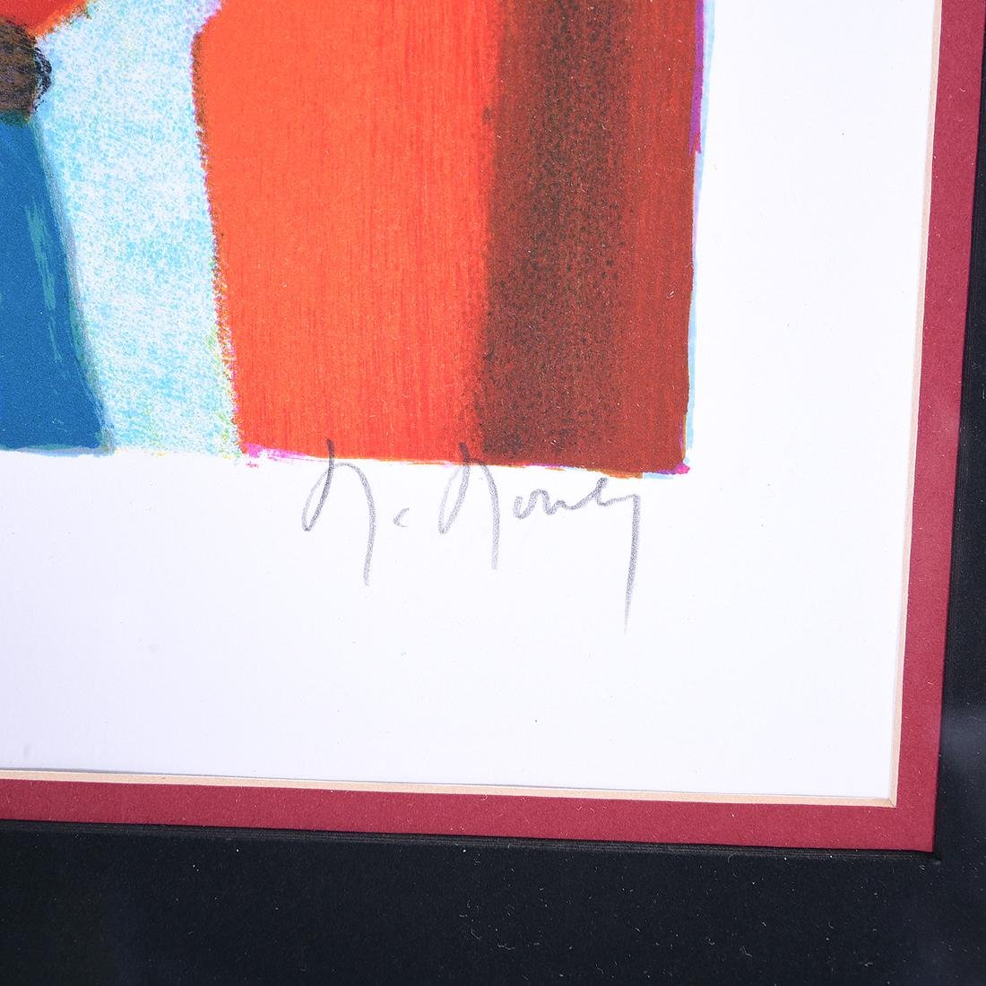 Marcel Mouly 2 color lithographs - 7