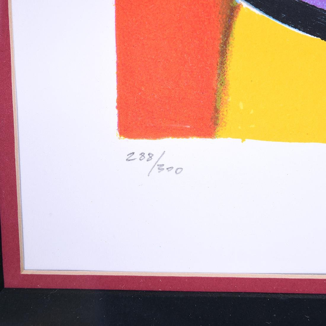 Marcel Mouly 2 color lithographs - 8