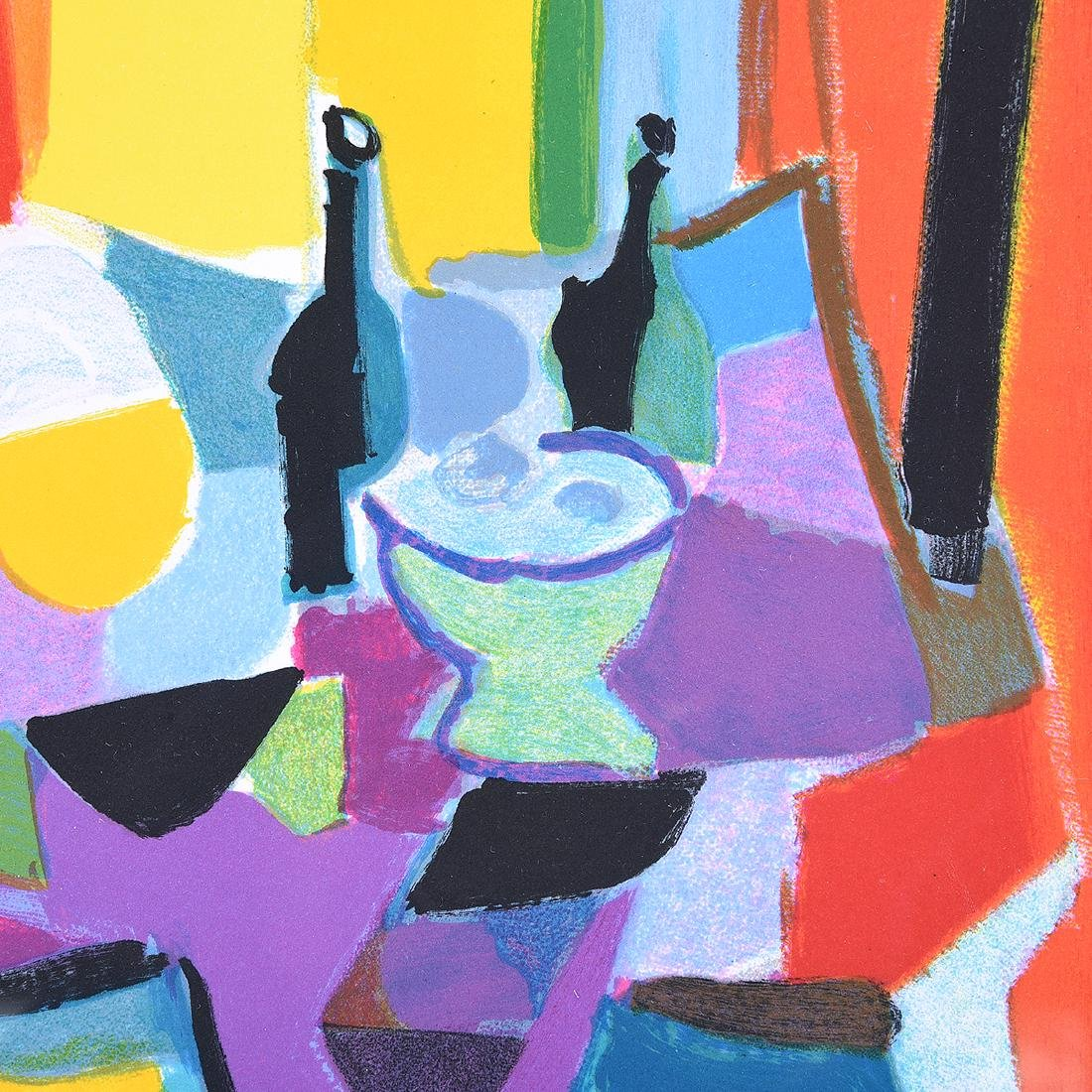Marcel Mouly 2 color lithographs - 9