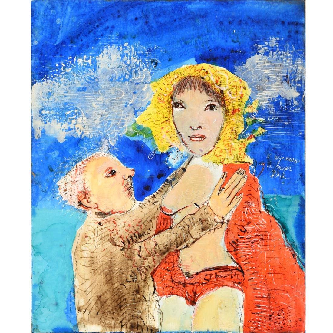 """Leonel Gongora """"El Viejo Amorosa y La Mujer Diosa"""""""