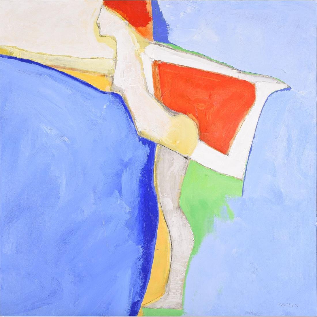 """Karl Albert Kasten """"Monique"""" acrylic on canvas"""