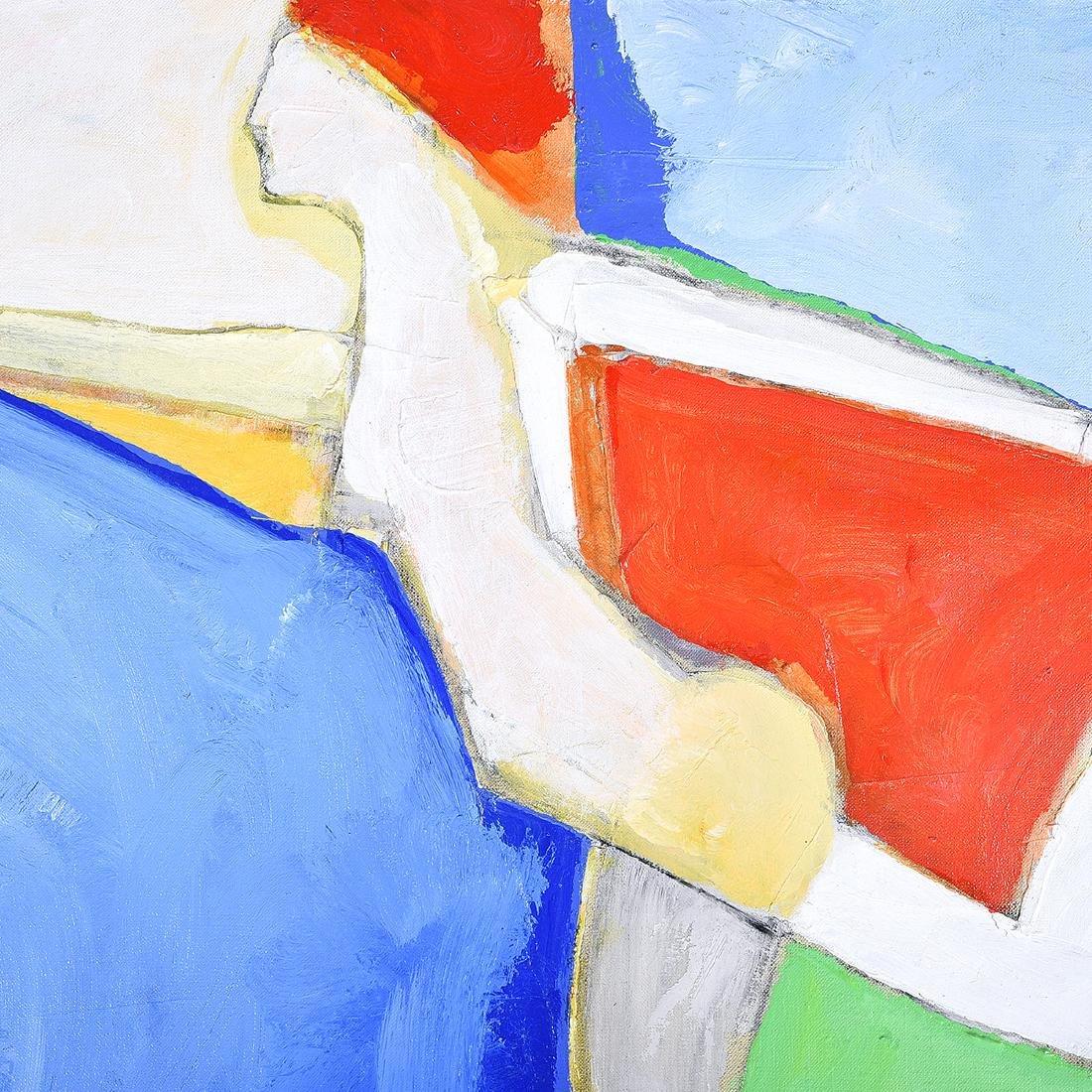 """Karl Albert Kasten """"Monique"""" acrylic on canvas - 3"""