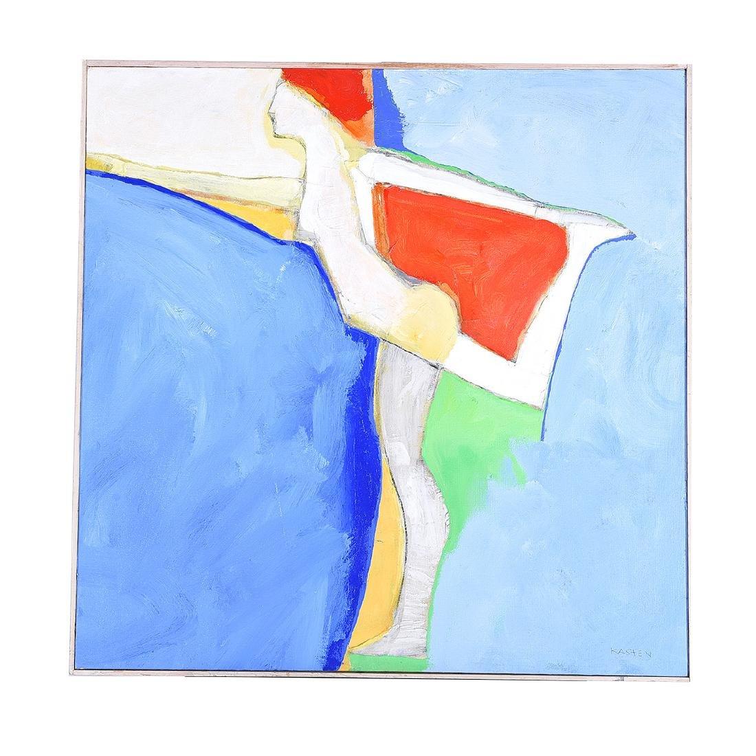"""Karl Albert Kasten """"Monique"""" acrylic on canvas - 4"""