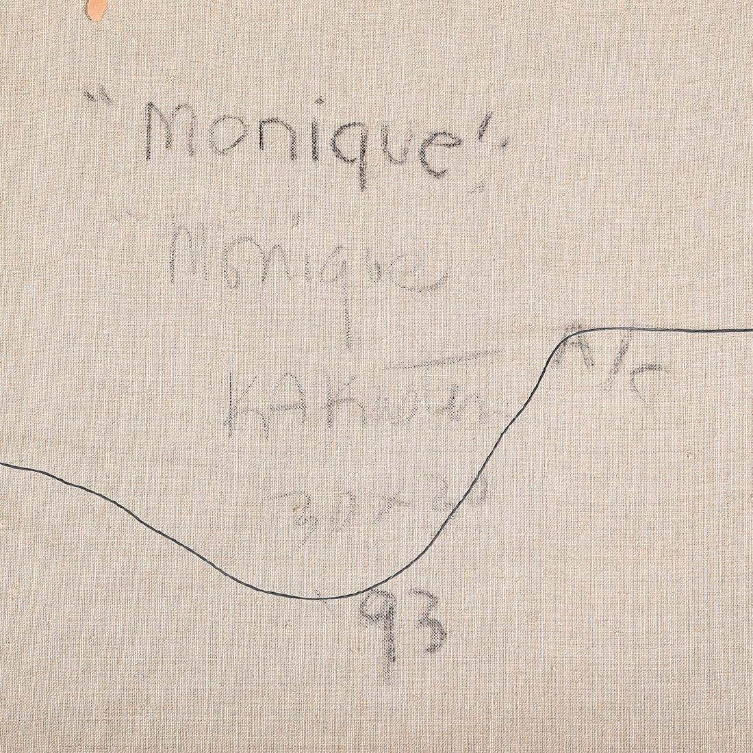 """Karl Albert Kasten """"Monique"""" acrylic on canvas - 6"""