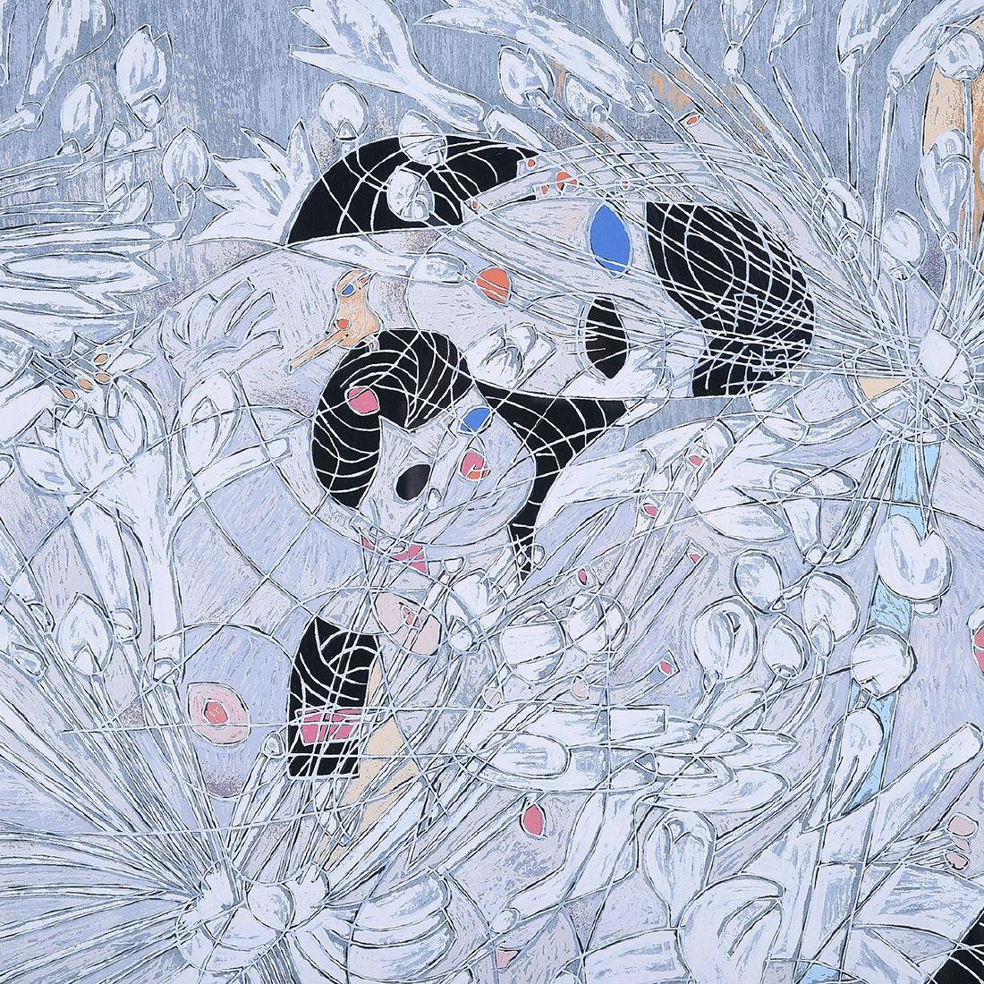 """Tiefeng Jaing, """"Mother and Child"""" Signed Serigraph - 4"""