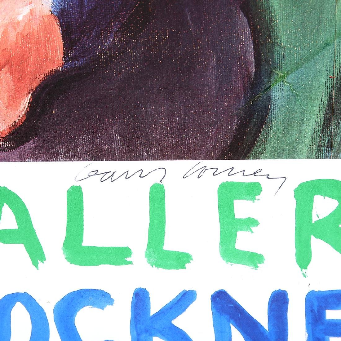 "David Hockney ""Tate Gallery: Exhibition Poster"" offset - 2"