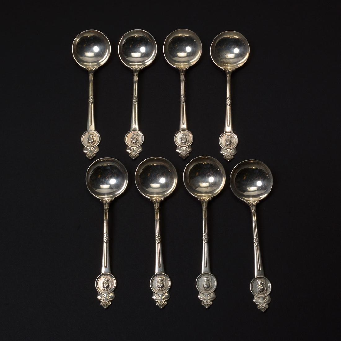 Gorham Medallion Sterling Flatware Set (111 pcs) - 3