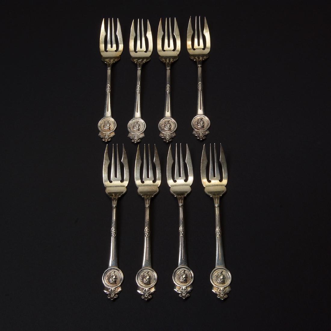 Gorham Medallion Sterling Flatware Set (111 pcs) - 4