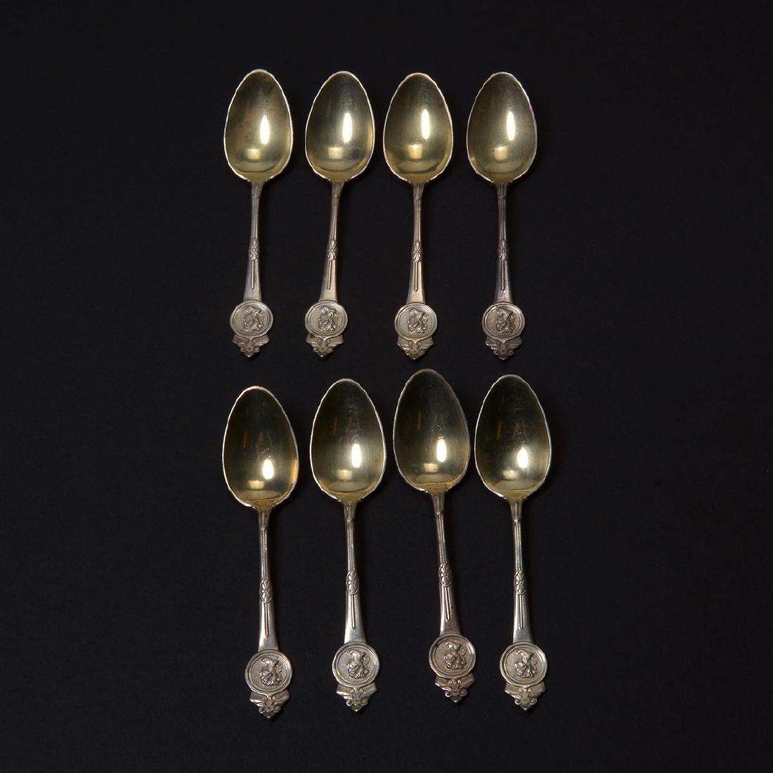 Gorham Medallion Sterling Flatware Set (111 pcs) - 6