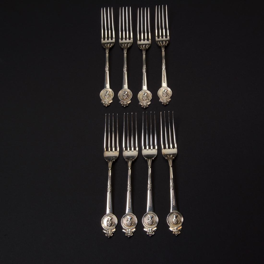 Gorham Medallion Sterling Flatware Set (111 pcs) - 8