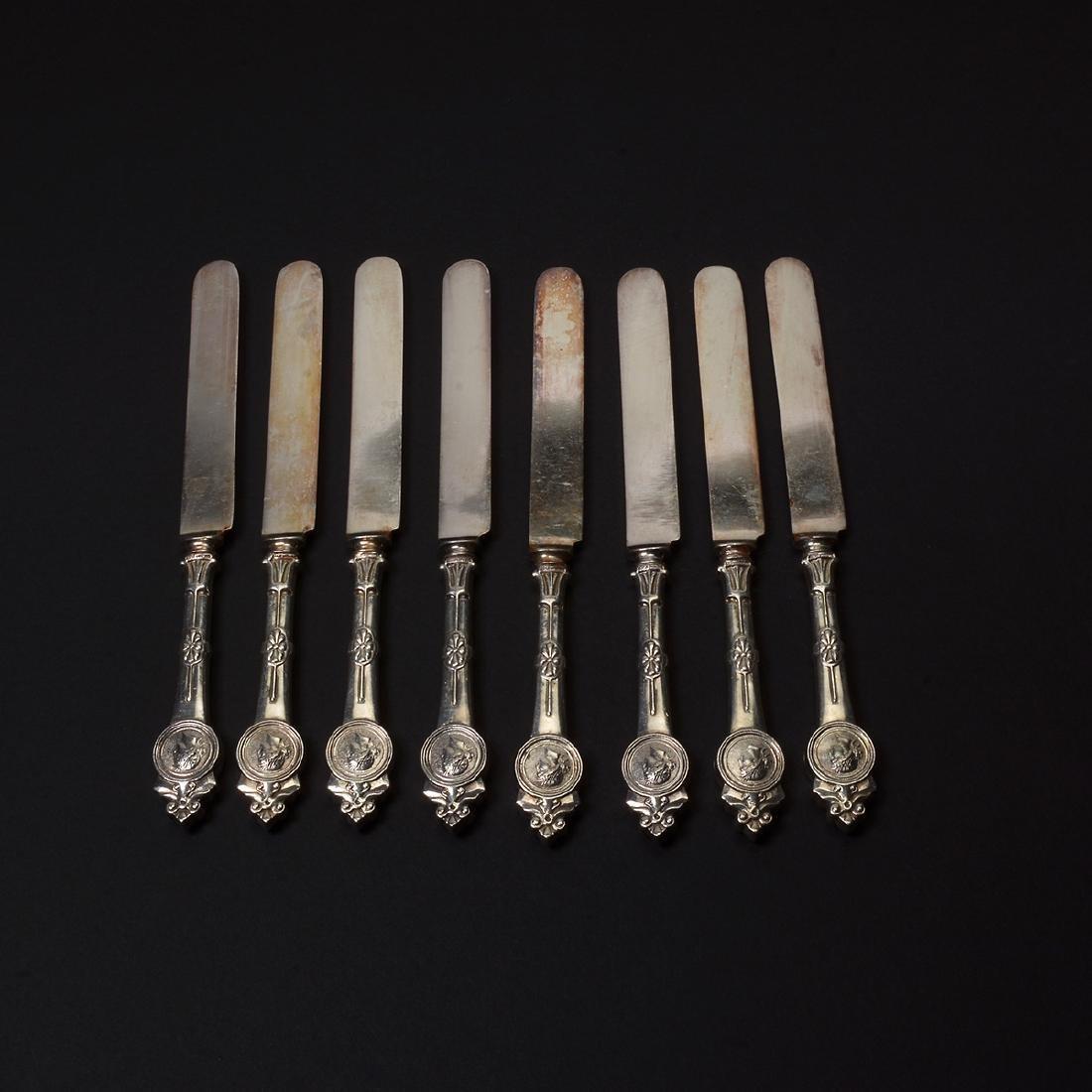 Gorham Medallion Sterling Flatware Set (111 pcs) - 9