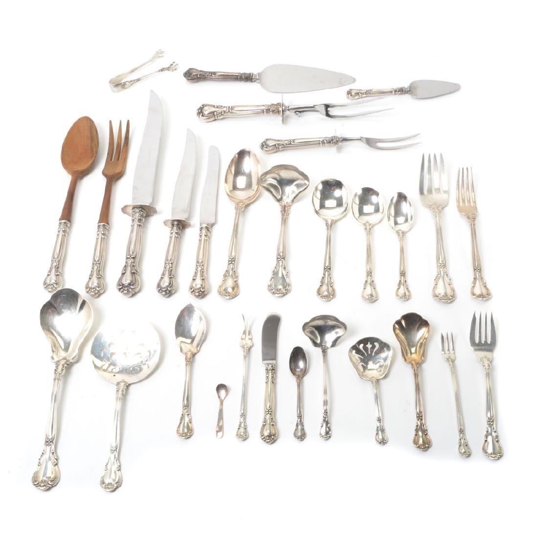 "Gorham ""Chantilly"" Sterling Flatware Service"