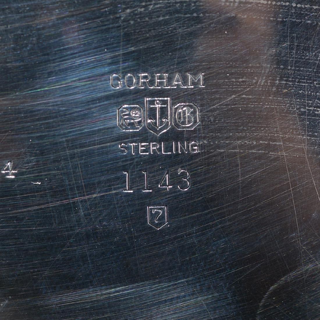 Gorham Strasburg Sterling Five Piece Tea Service. - 6