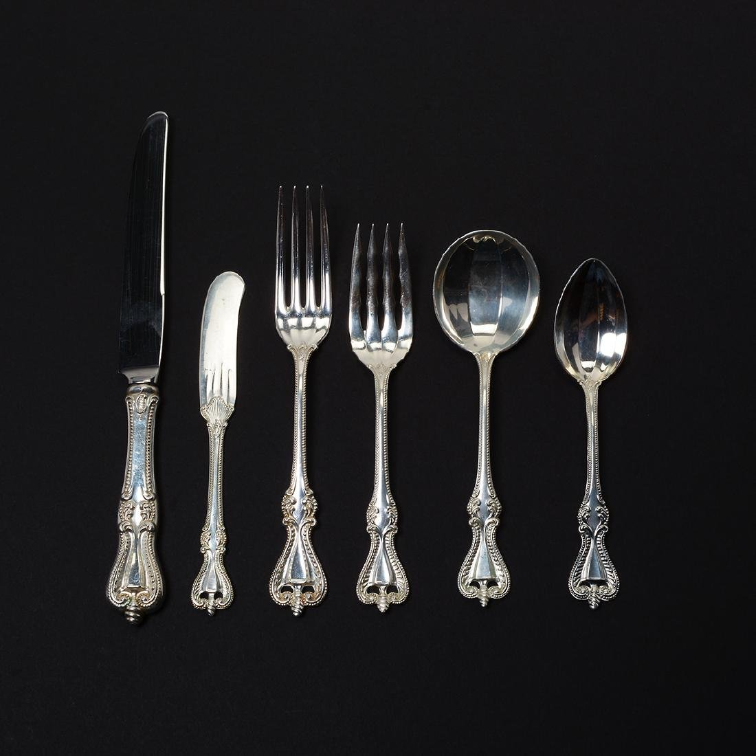 Towle Chippendale Sterling Flatware Set (72 Pieces)