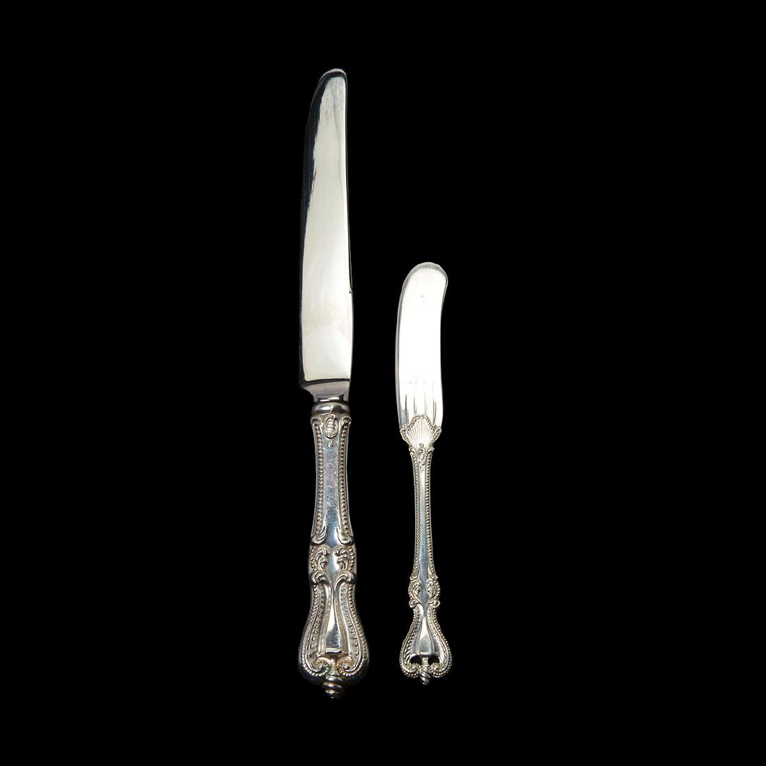 Towle Chippendale Sterling Flatware Set (72 Pieces) - 2