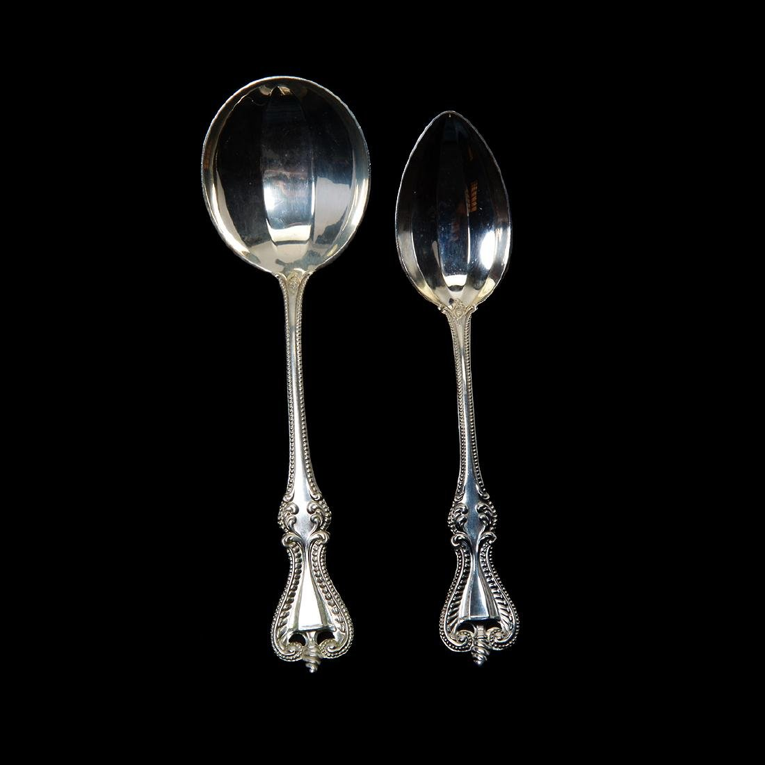Towle Chippendale Sterling Flatware Set (72 Pieces) - 3