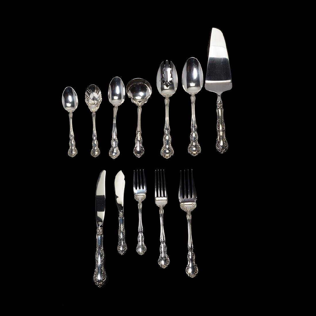 Wallace Sterling Flatware Service in the Old Atlanta