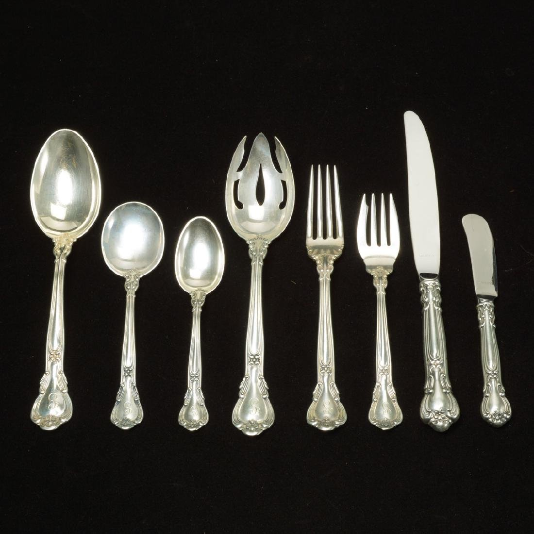 Gorham Chantilly Sterling Silver  Flatware, Monogrammed