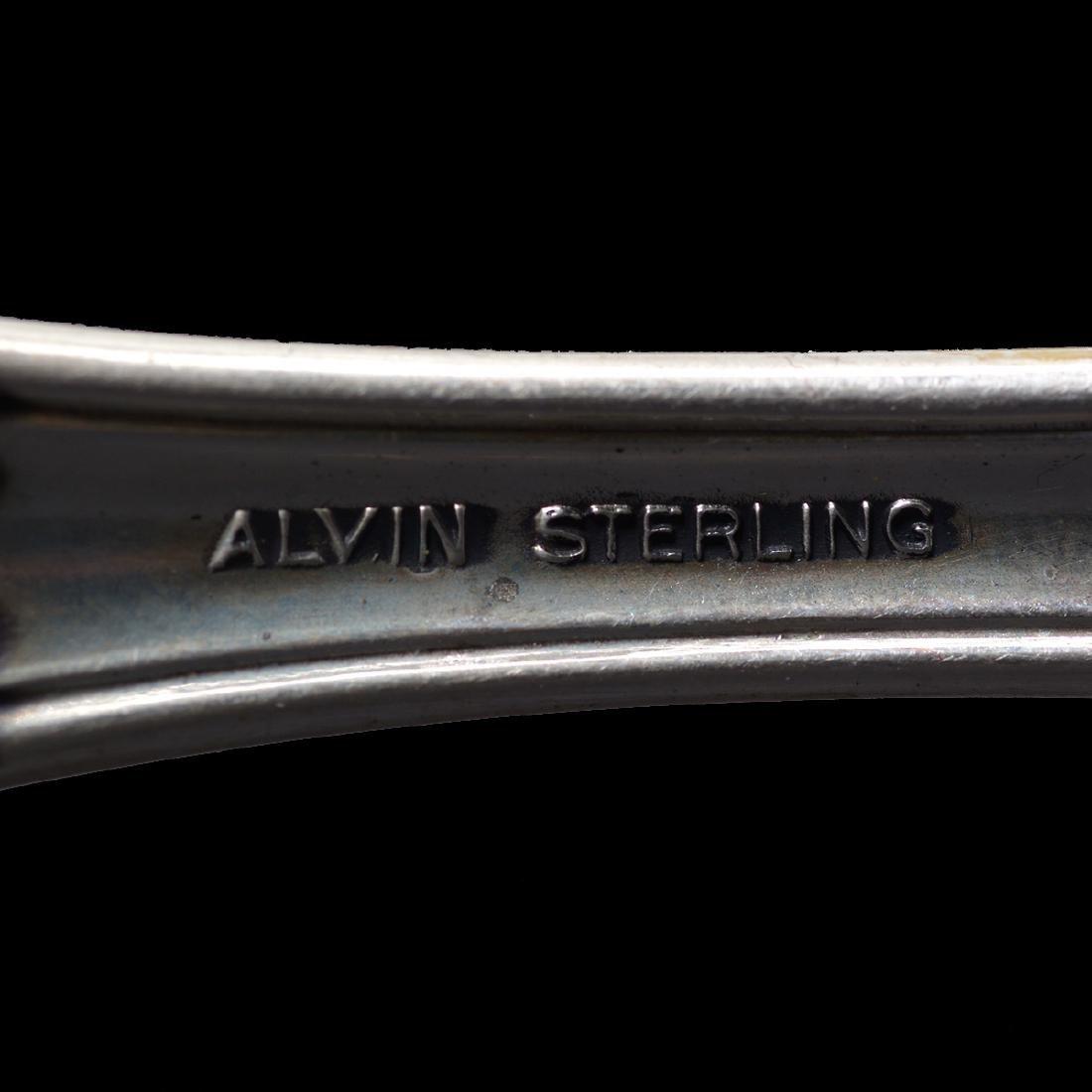 Alvin-Vivaldi Sterling Flatware Service (50 Pieces) - 5