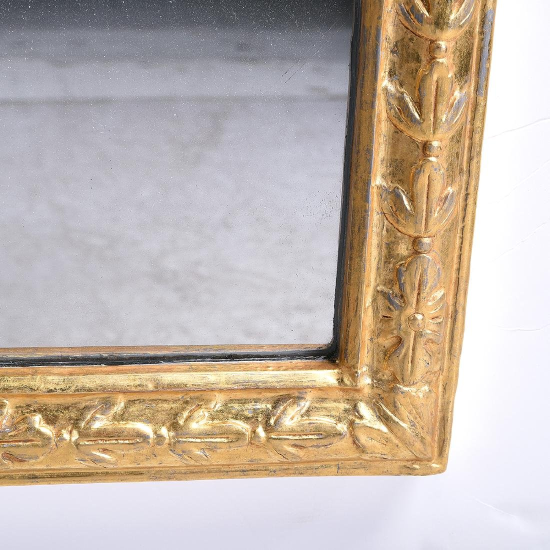 Pair of Queen Anne style giltwood mirrors - 4
