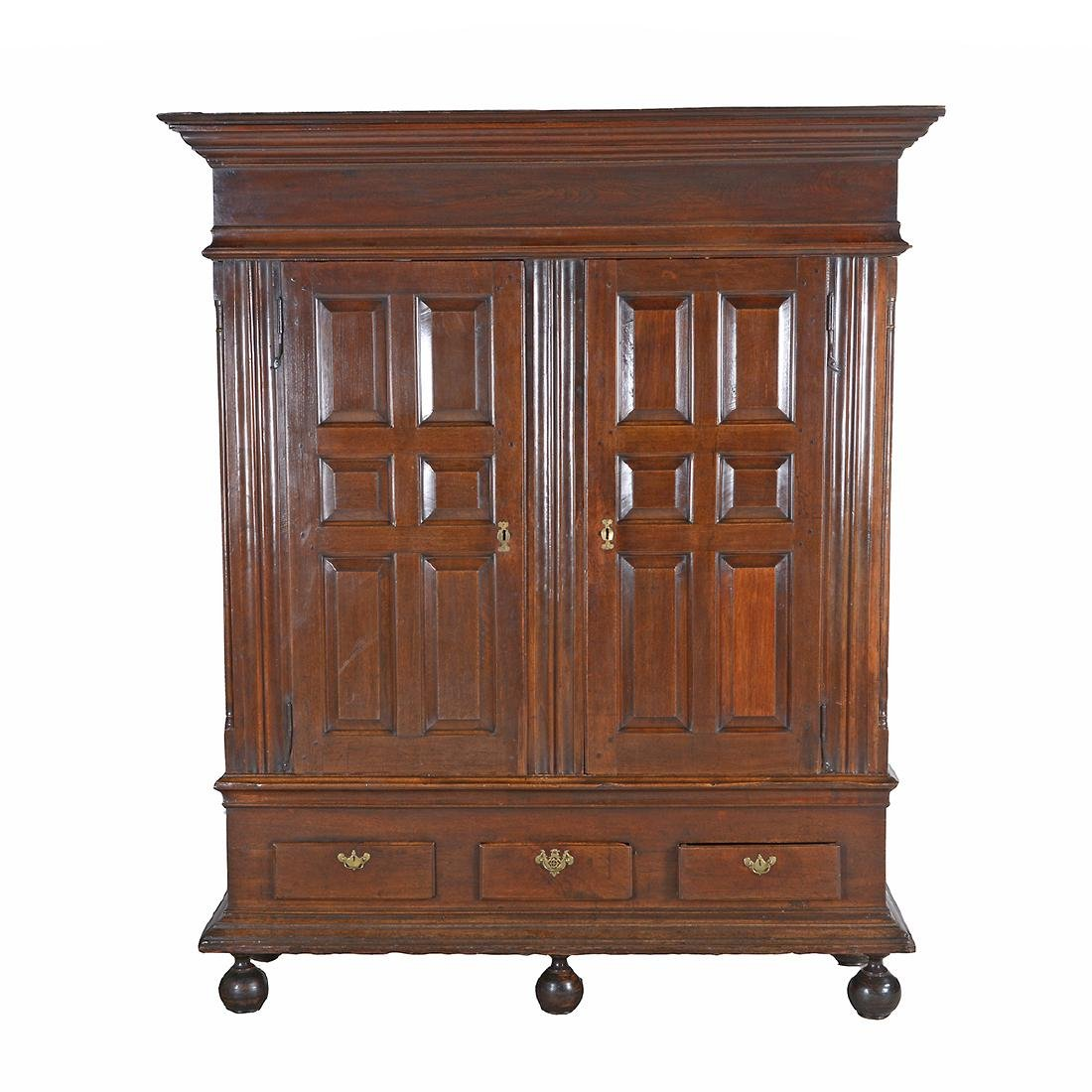American Chippendale Lancaster County Walnut Kas.