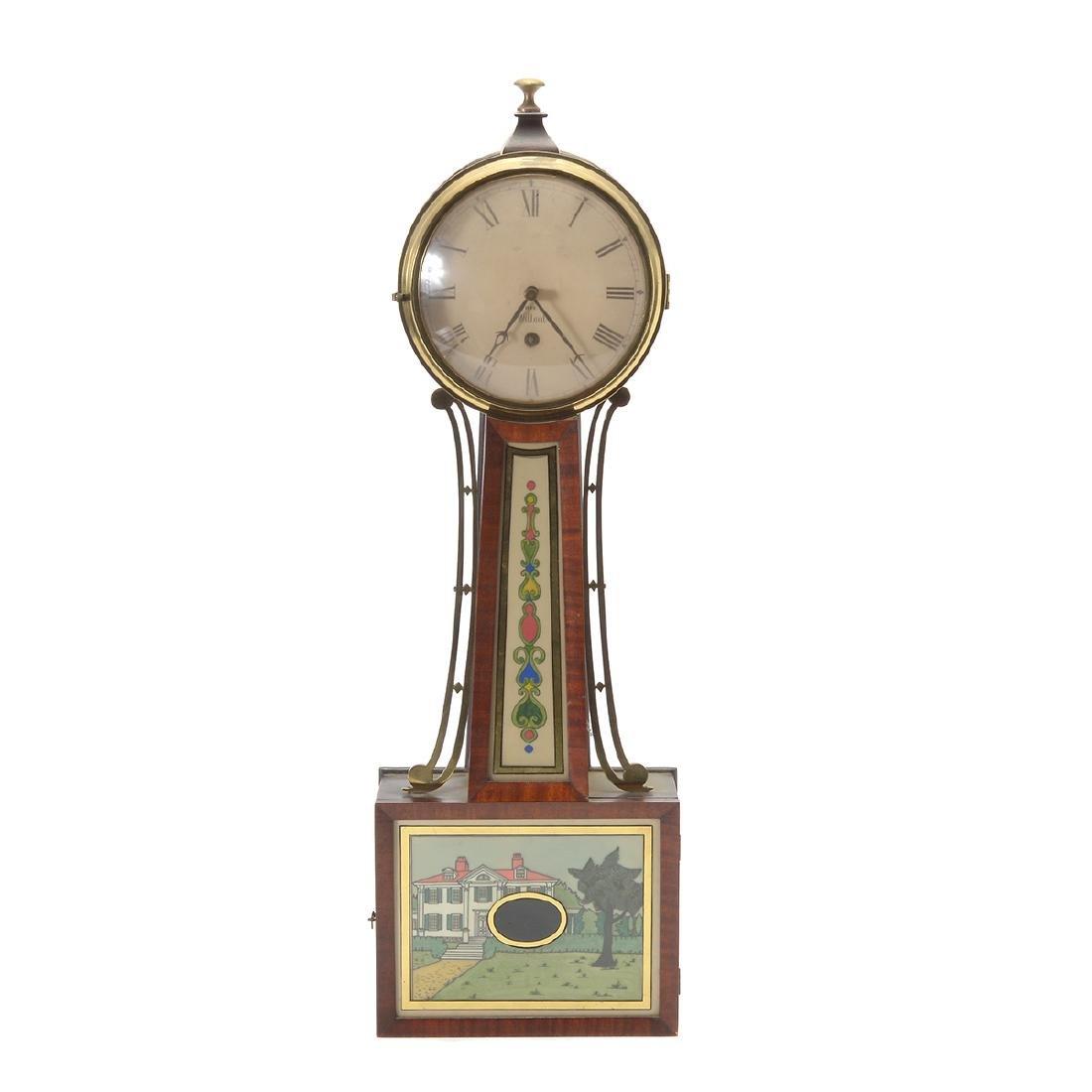 Willard Banjo Clock. 20th Century
