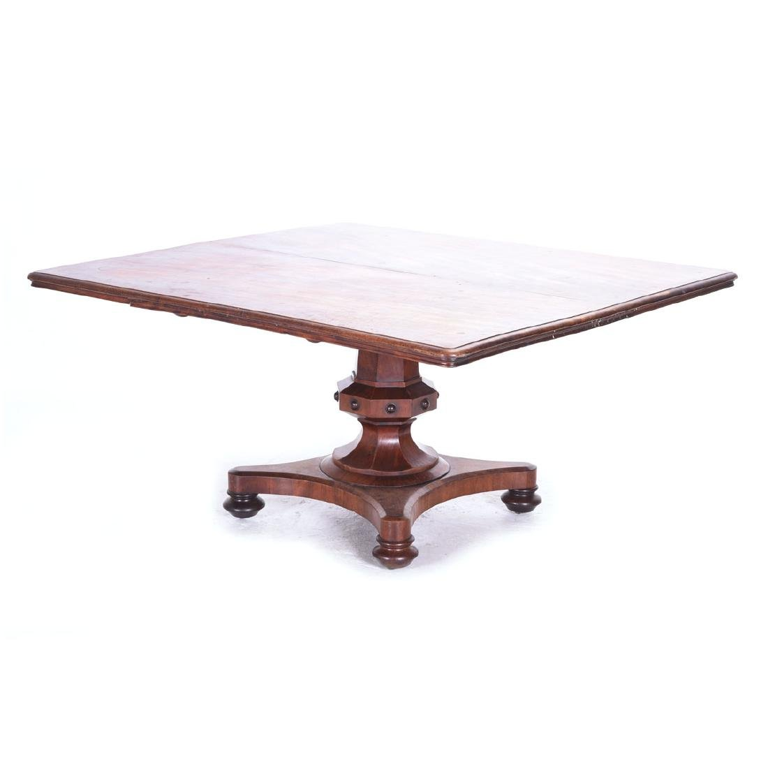 Early Victorian Mahogany Dining Table, Circa 1850