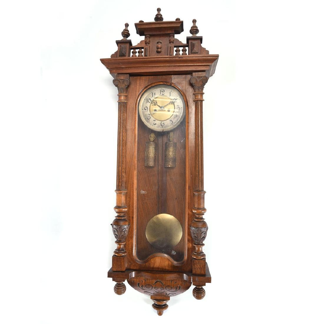Renaissance Revival Regulator Wall Clock