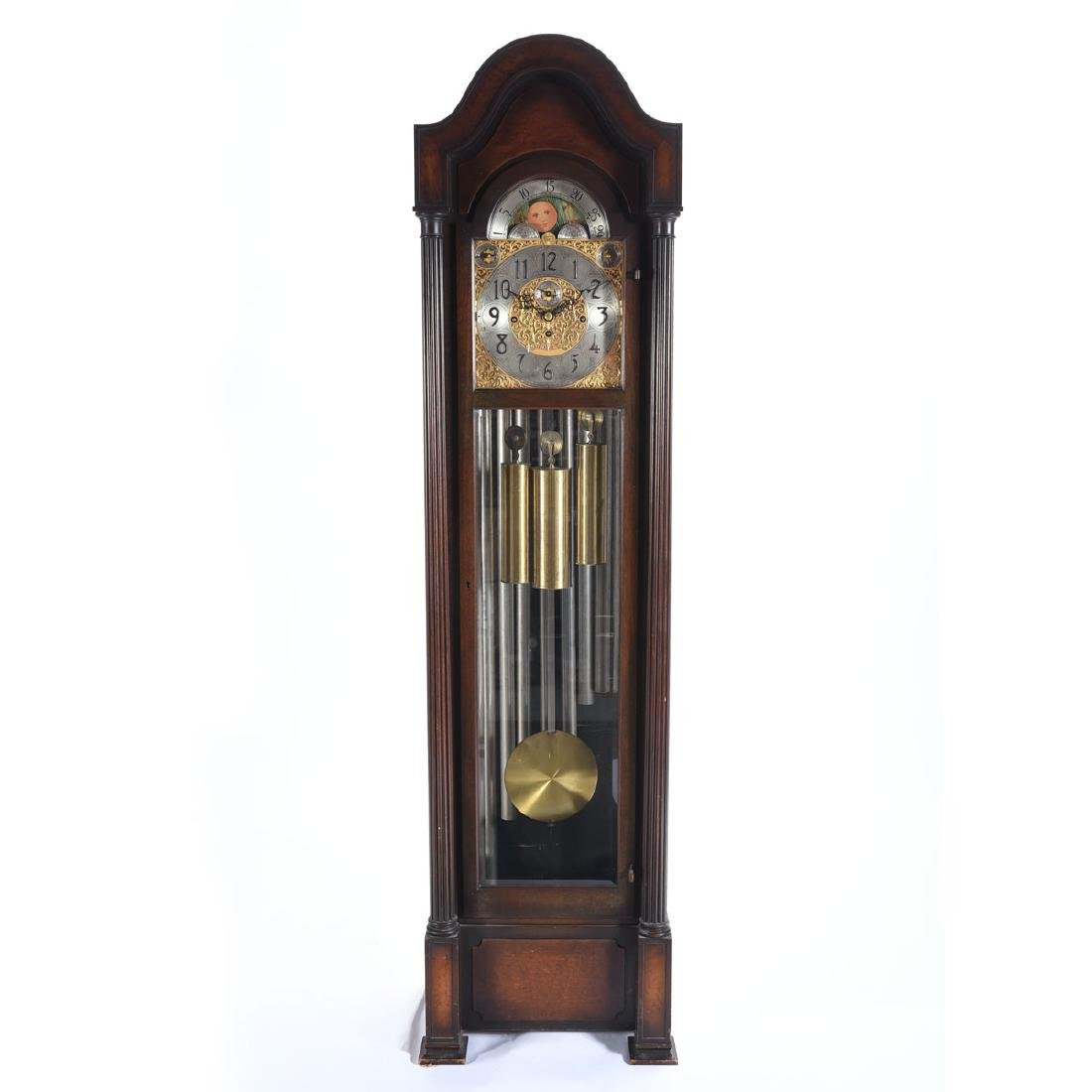 Heschede Hall Clock Co. Longcase Clock