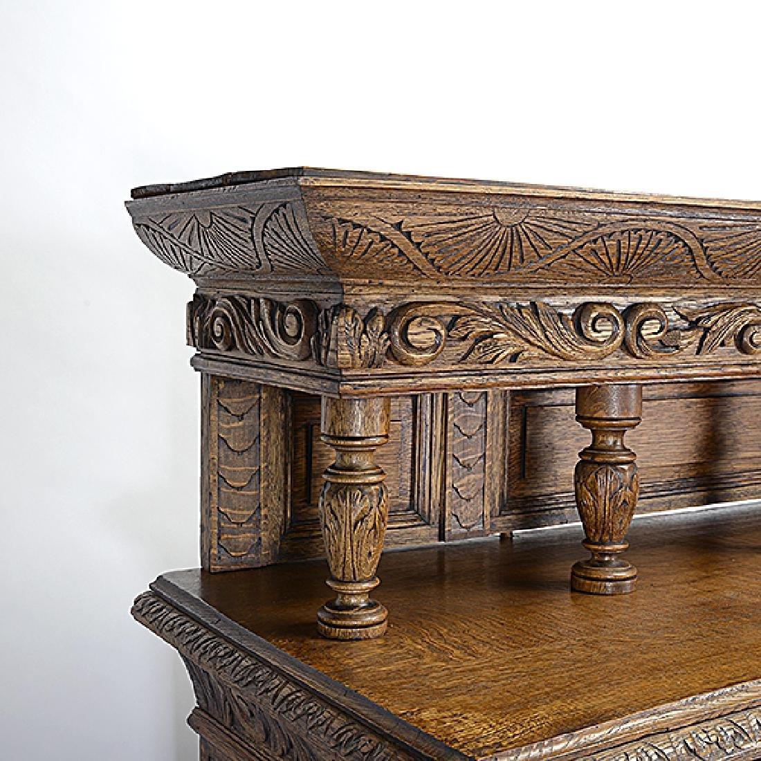 Renaissance Revival Buffet Sideboard - 2