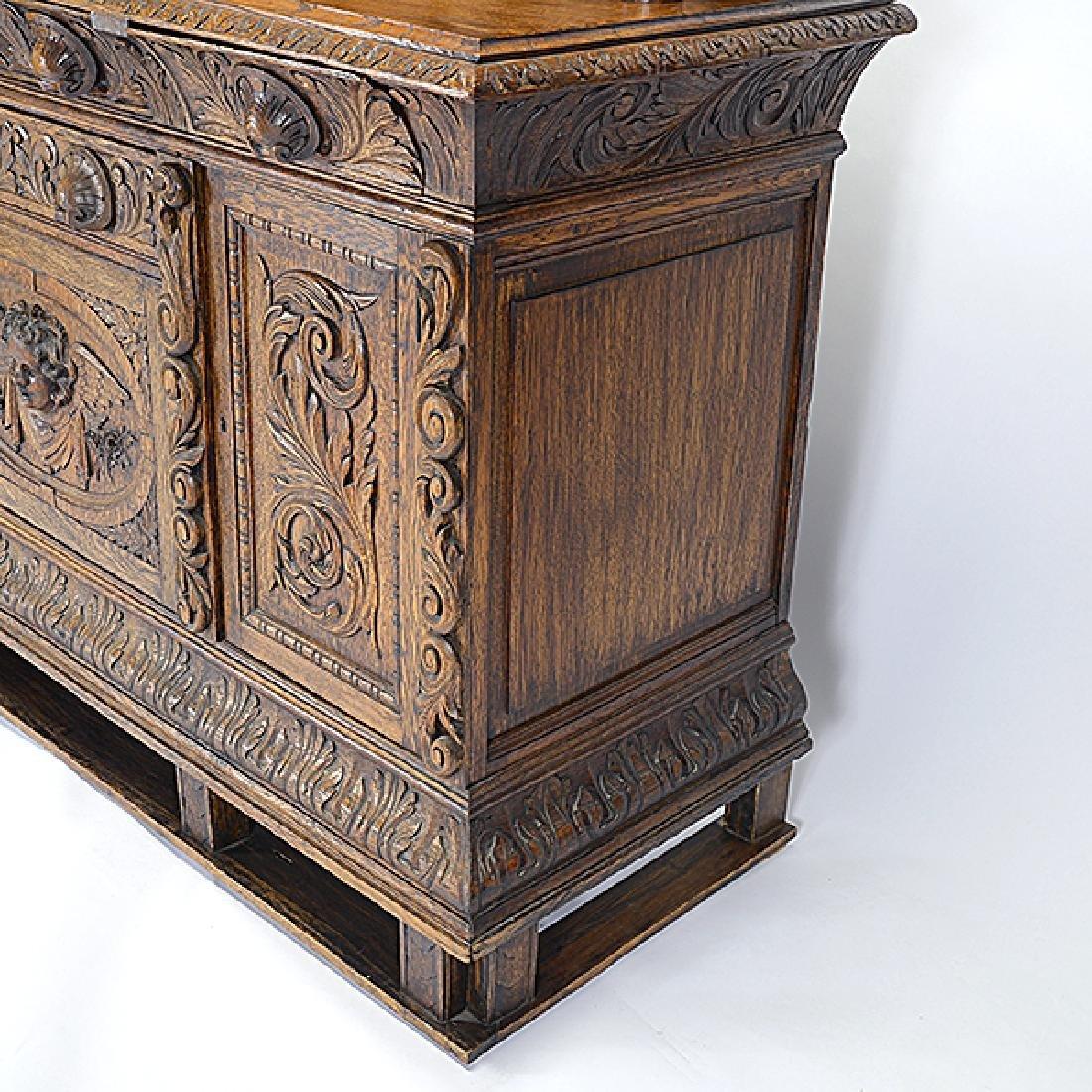 Renaissance Revival Buffet Sideboard - 5