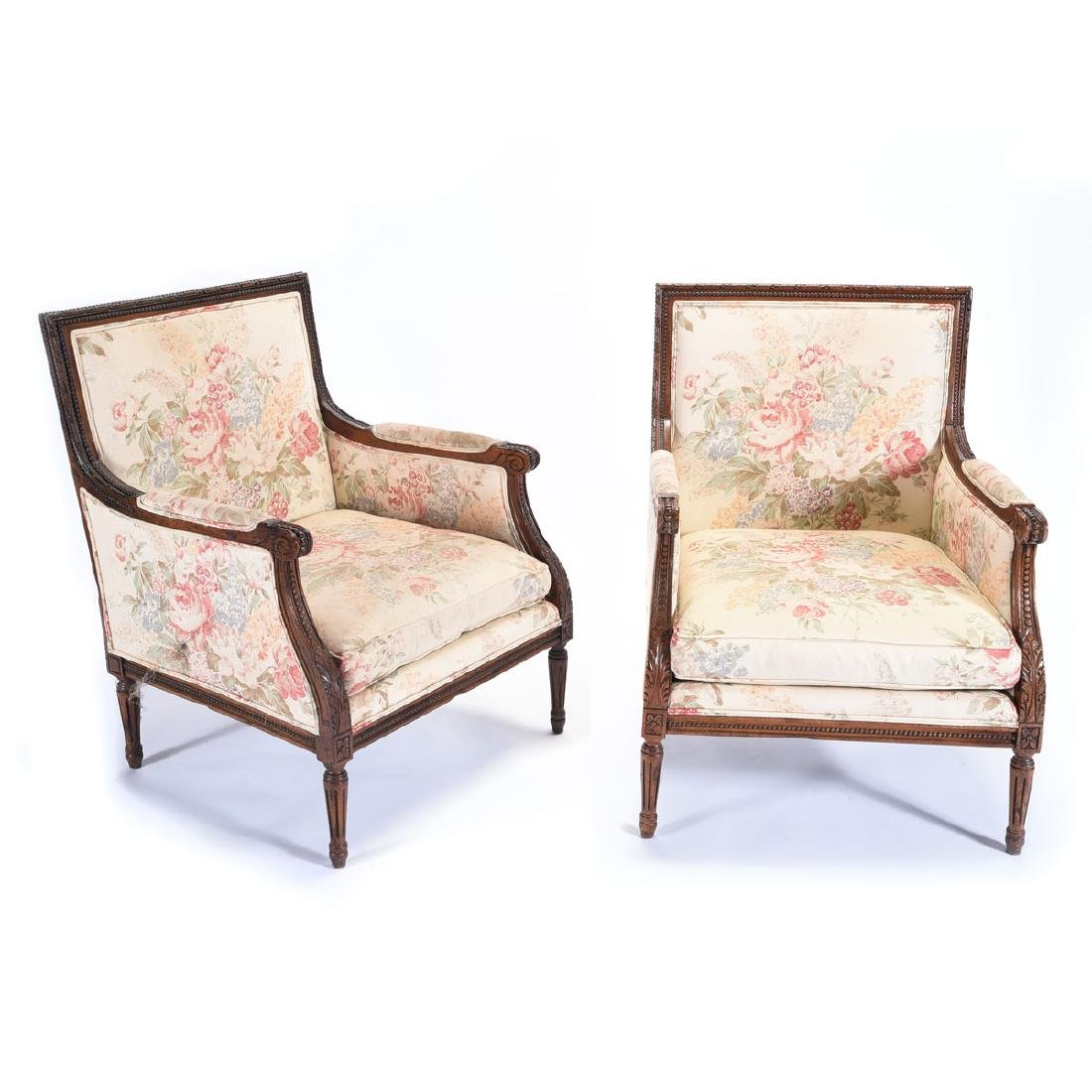Pair of Ralph Lauren Duchess Salon Armchairs Fashioned