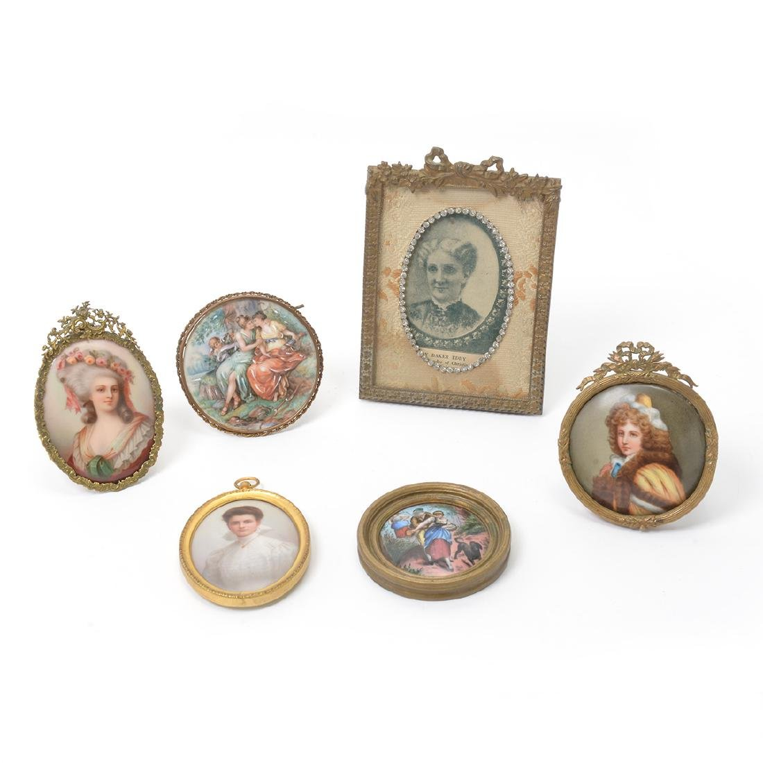 Five Continental Miniature Paintings and Wanamaker