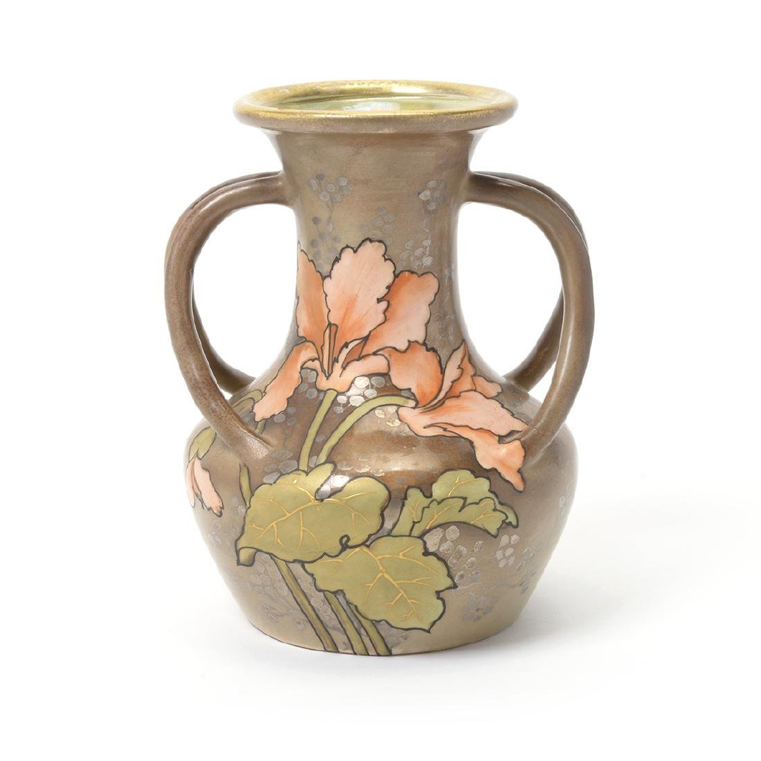 Amphora Vase with Tiger Lily