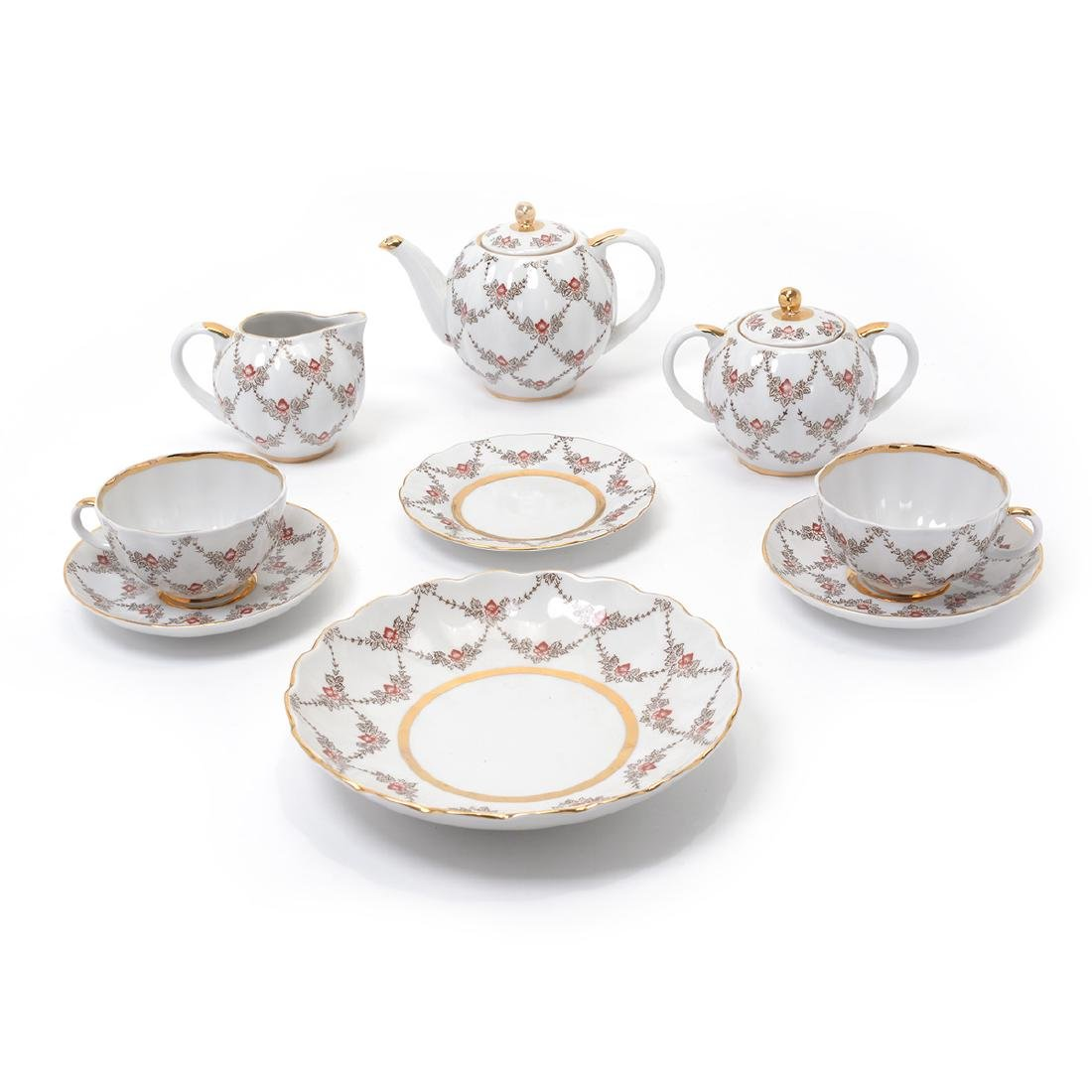 Lomonsov Tea Service (20 pieces)