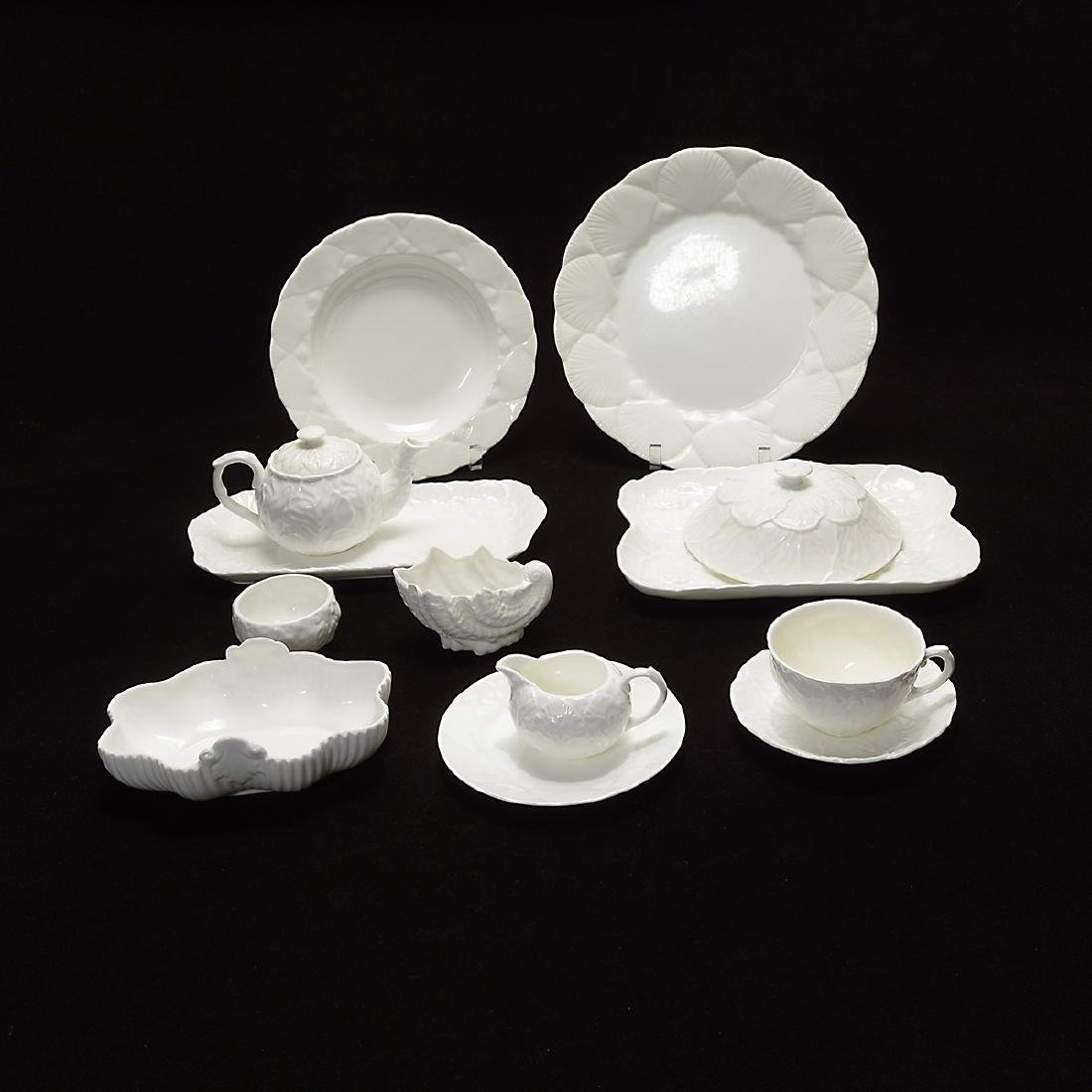 Wedgwood and Coalport Blanc de Chine Sets