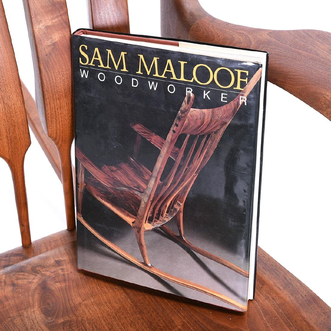 Mid Century Rocking Chair in the Style of Sam Maloof - 2