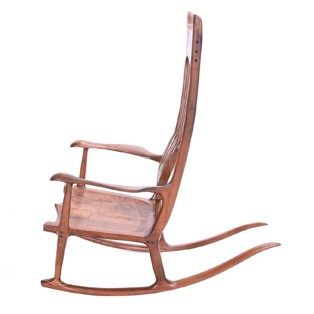 Mid Century Rocking Chair in the Style of Sam Maloof - 5