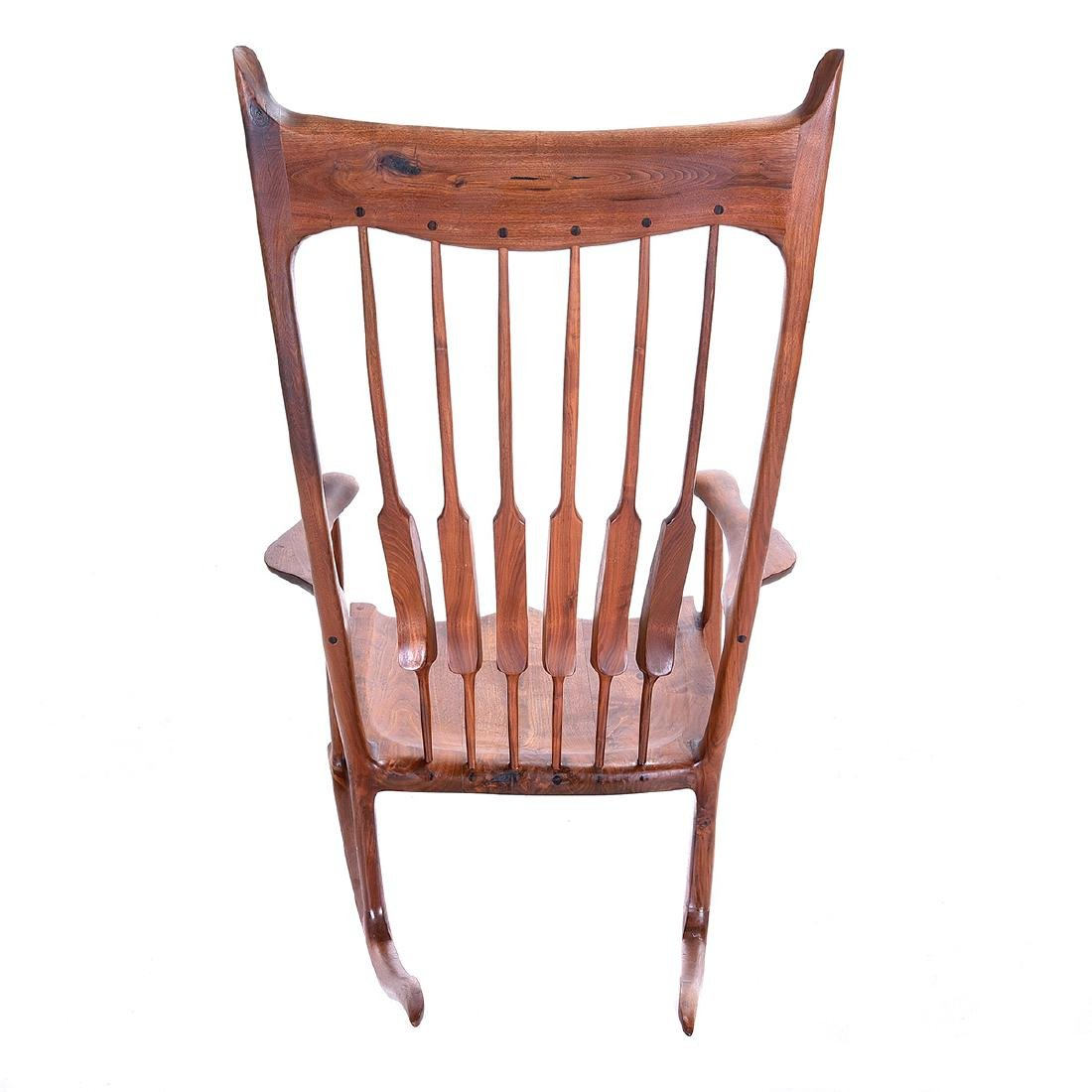 Mid Century Rocking Chair in the Style of Sam Maloof - 7