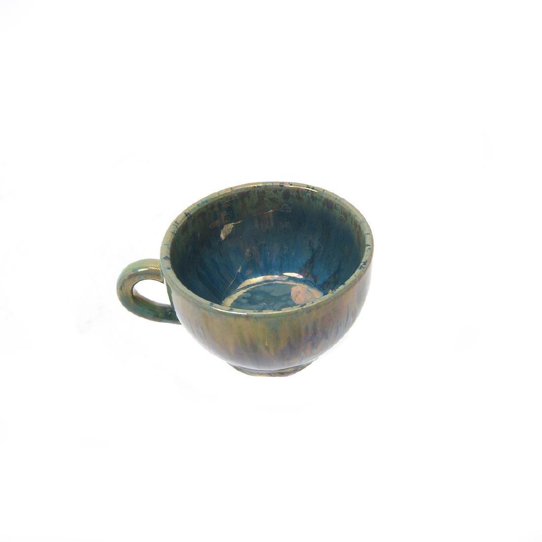 Alphonse Cytere Iridescent Art Pottery Tea Service - 10