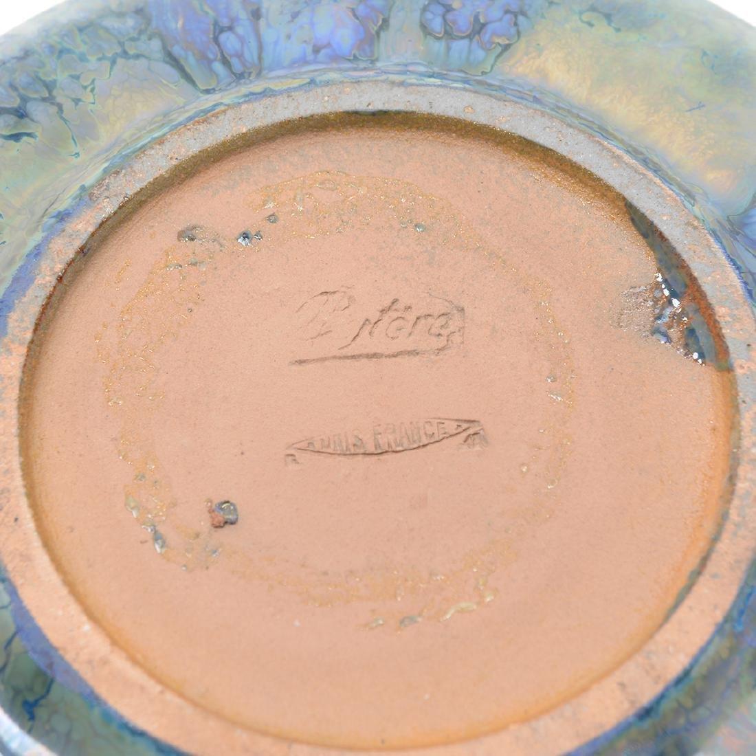 Alphonse Cytere Iridescent Art Pottery Tea Service - 7