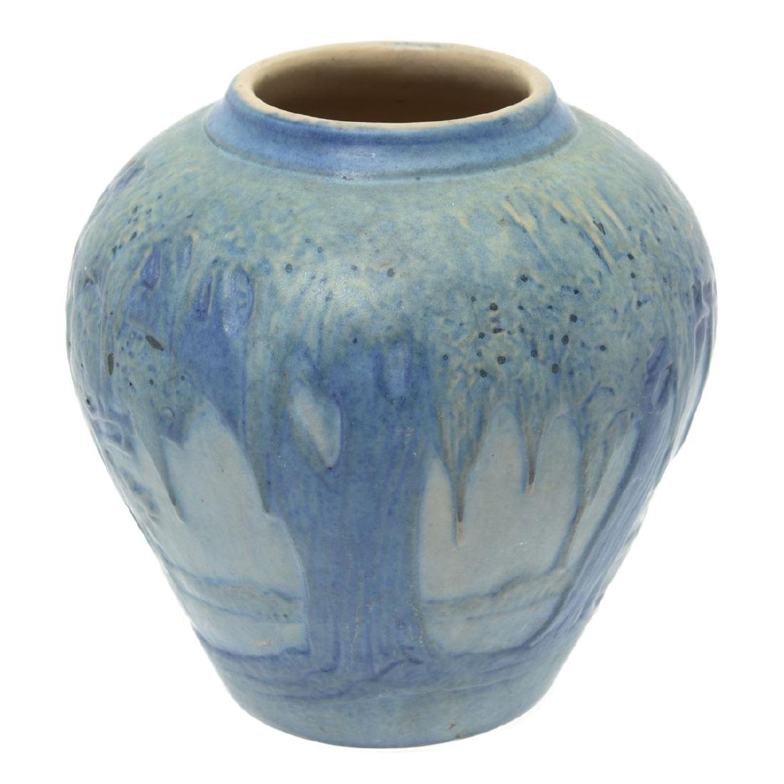 Newcomb College Moonlight Pottery Vase Possibly (JH