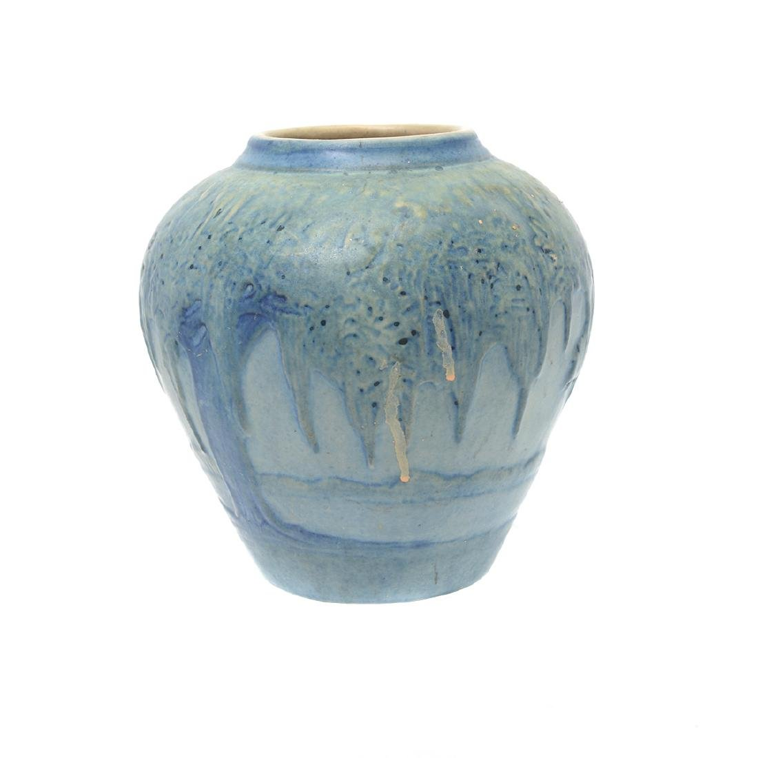 Newcomb College Moonlight Pottery Vase Possibly (JH - 2