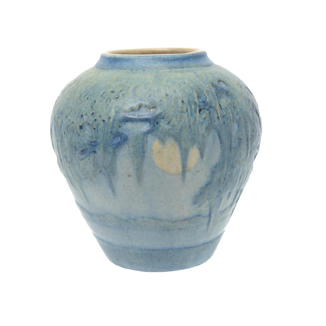 Newcomb College Moonlight Pottery Vase Possibly (JH - 3