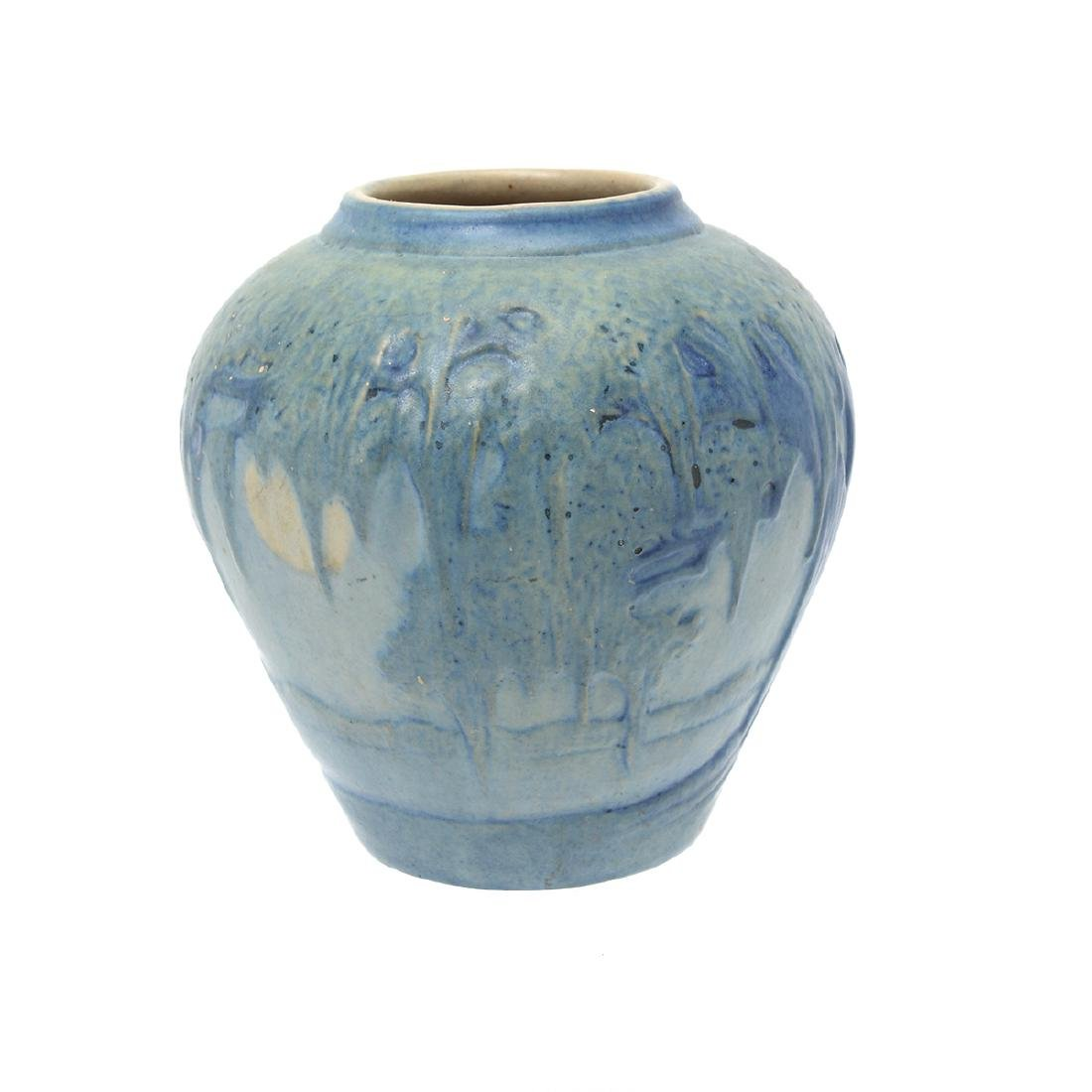 Newcomb College Moonlight Pottery Vase Possibly (JH - 4