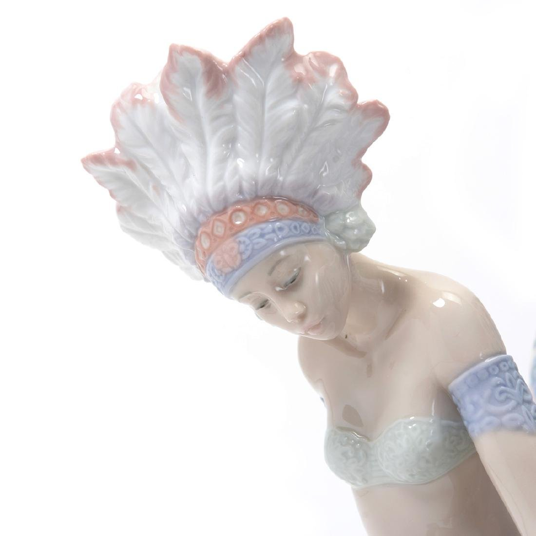 "Lladro ""Feathered Fantasy""(Dama del Pavo-Spanish Model - 3"
